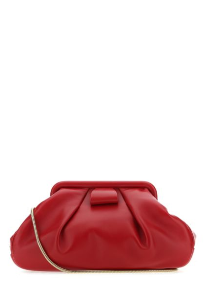 Tiziano red nappa leather clutch