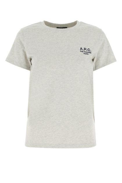 Malange grey cotton t-shirt