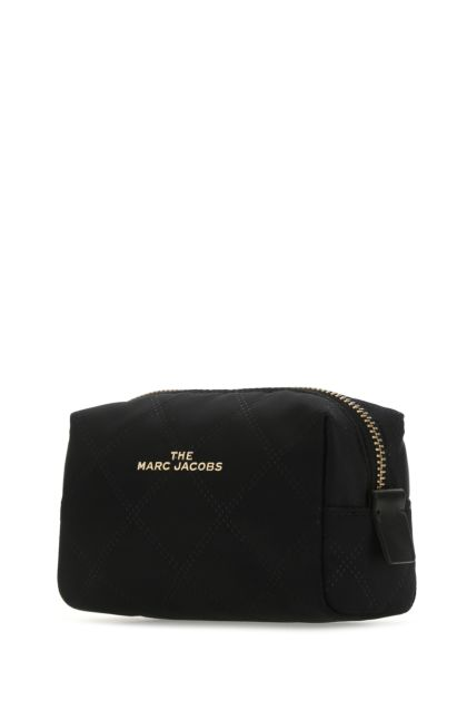 Black polyester pouch