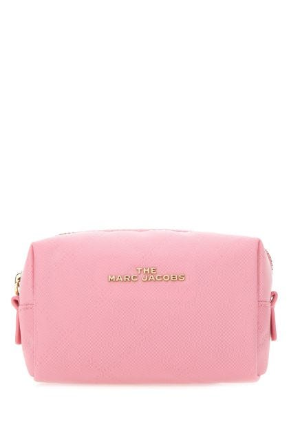 Pink fabric beauty case