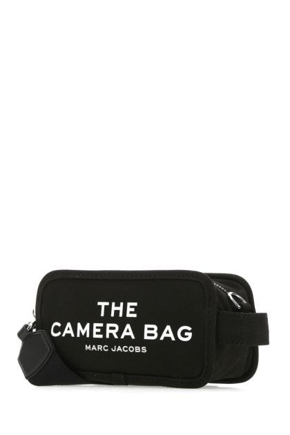 Black canvas The Camera Bag crossbody bag