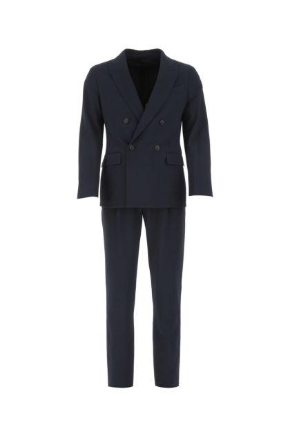 Blue stretch wool Upton tuxedo