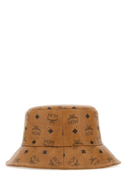 Printed canvas hat