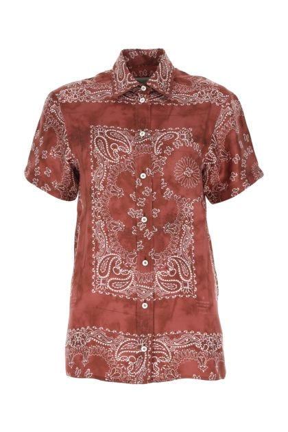 Printed viscose Clarissa shirt