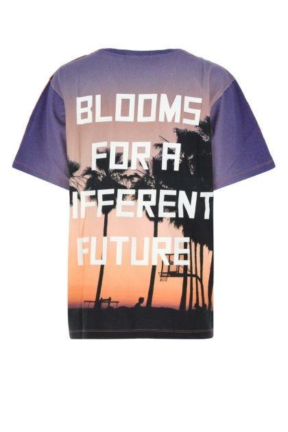 Printed cotton Aira t-shirt