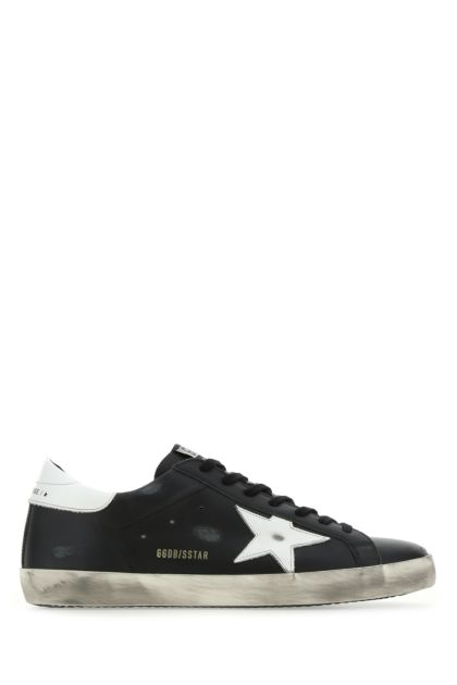 Black leather Super Star Classic sneakers