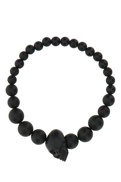 Black resine bracelet