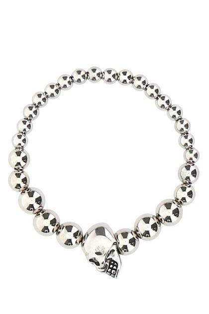 Silver brass bracelet