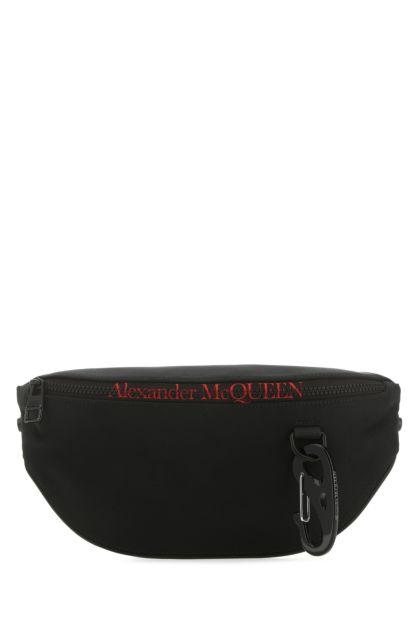 Black nylon oversize Harness belt bag