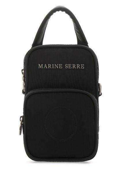Black viscose mini Multi Position handbag