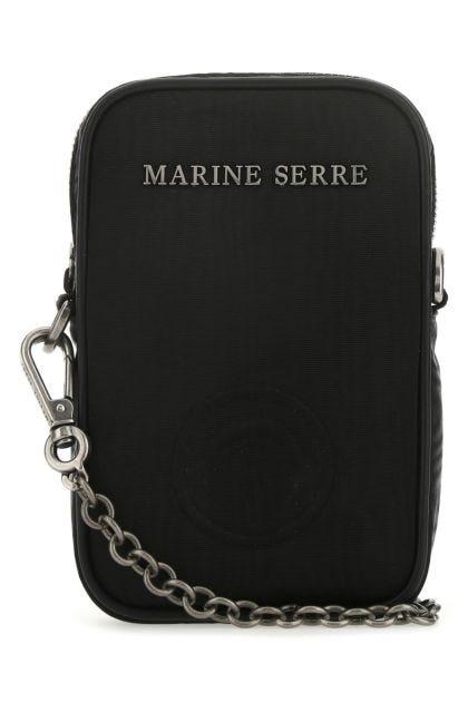 Black viscose phone case