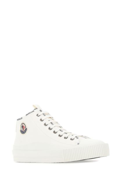 White canvas Lissex sneakers