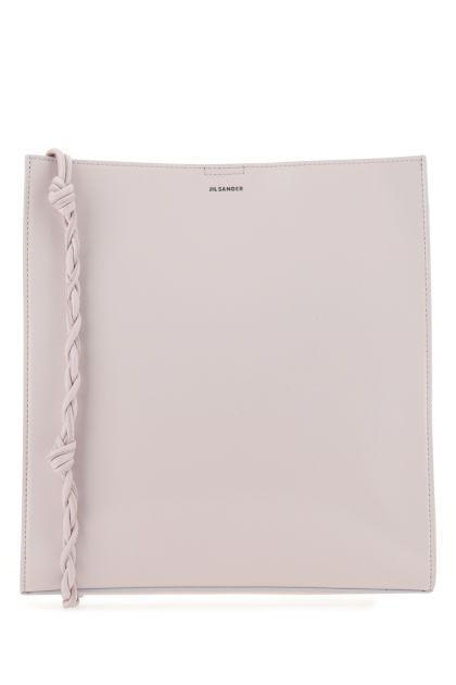 Lilac leather medium Tangle shoulder bag