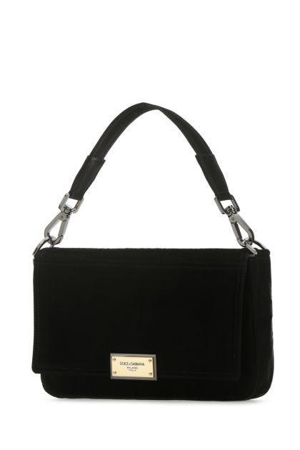 Black fabric Sicilia DNA handbag