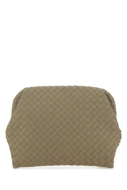 Khaki leather document holder