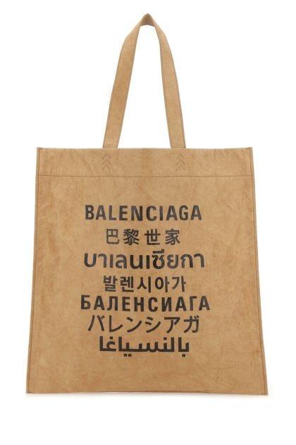 Camel fabric medium Shoul handbag