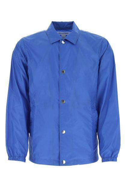 Cerulean nylon shirt