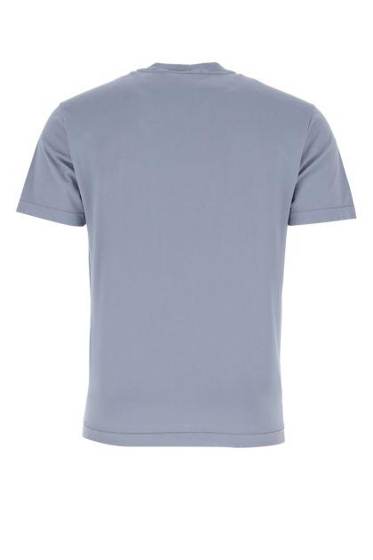 Powder blue cotton t-shirt