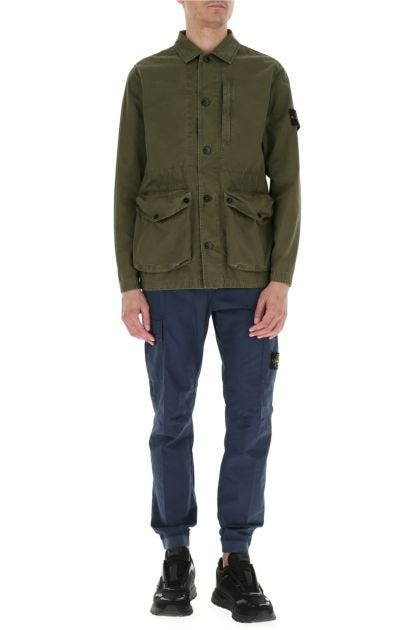 Army green cotton jacket