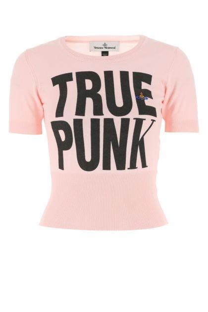 Pastel pink cotton top