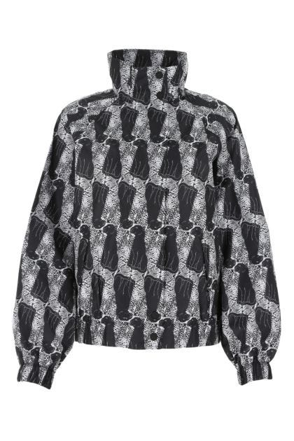 Printed polyester Leopard k-way