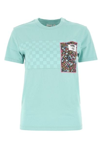 Sea green cotton t-shirt
