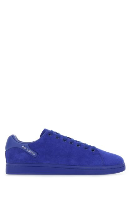 Electric blue suede Orion sneakers
