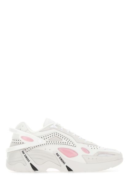 Multicolor leather Cylon-21 sneakers