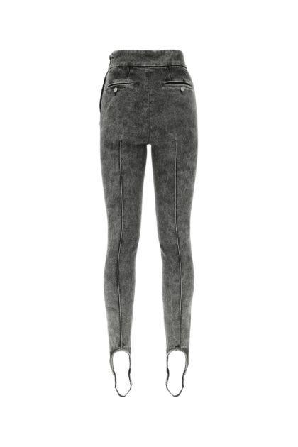 Dark grey stretch denim Nanouli jeans