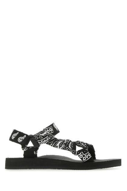 Printed cotton Trekky sandals