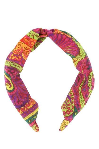 Printed fabric hairband
