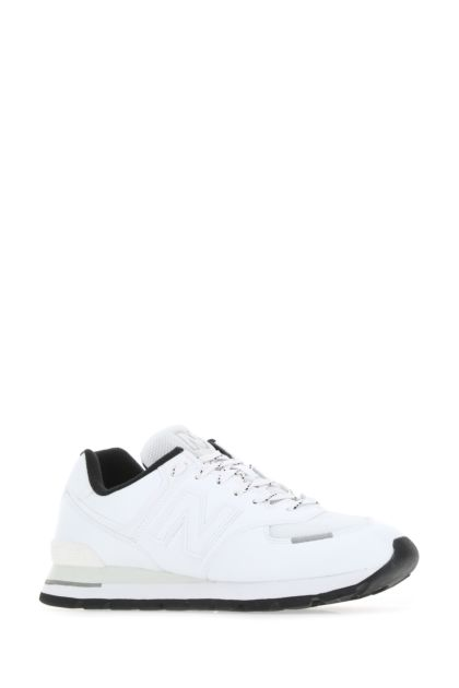 White leather 574 Rugged sneakers