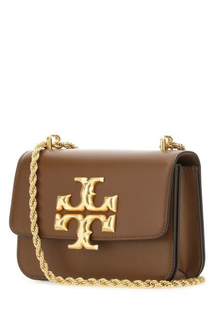 Brown leather small Eleanor shoulder bag