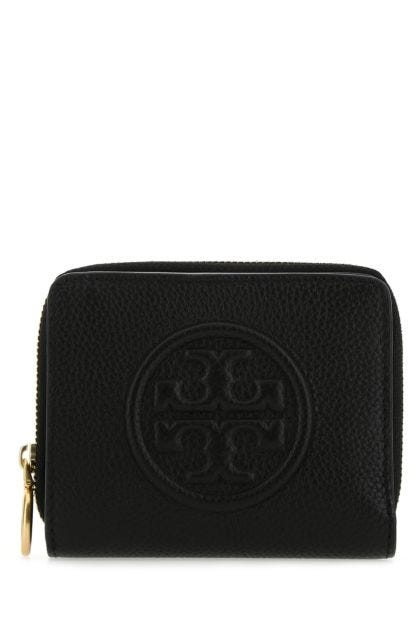 Black leather Perry wallet