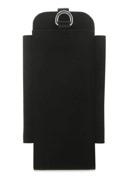 Black nylon smartphone case