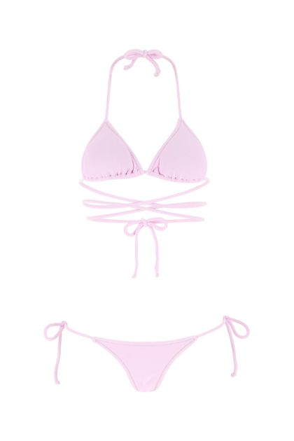 Pink stretch nylon Miami bikini