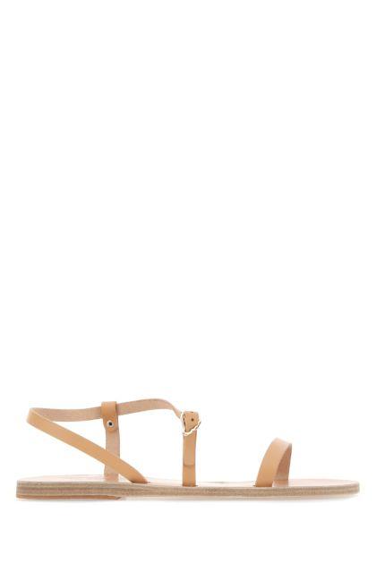 Skin pink leather Niove sandals