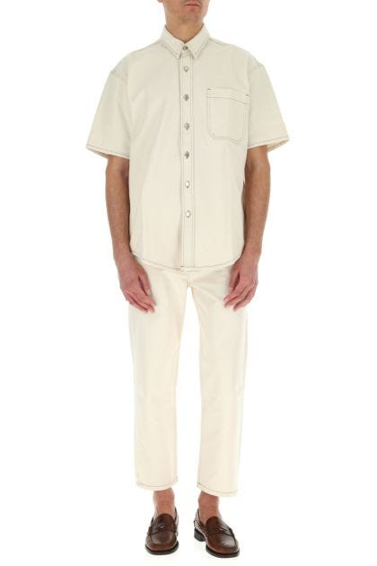 Ivory denim Connor jeans