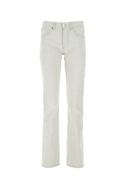 Melange grey denim jeans