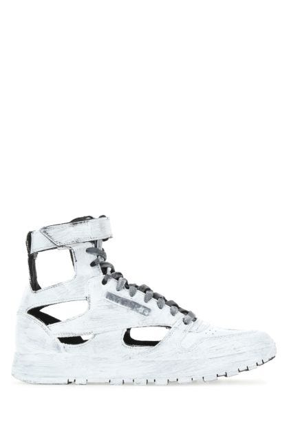 White leather Gladiator sneakers