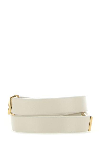 Sand nappa leather bracelet