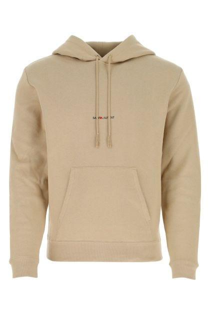 Cappuccino cotton sweatshirt