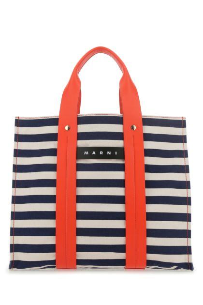 Embroidered canvas large Burton handbag