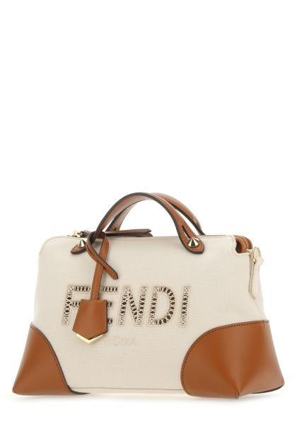 Two-tone cotton By The Way handbag
