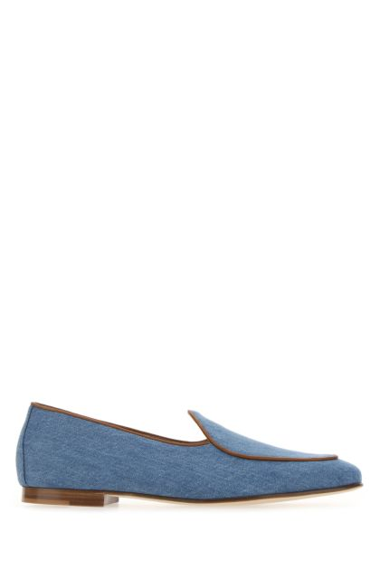 Denim Kensington loafers