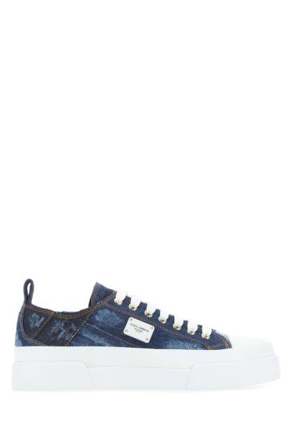Denim Portofino sneakers