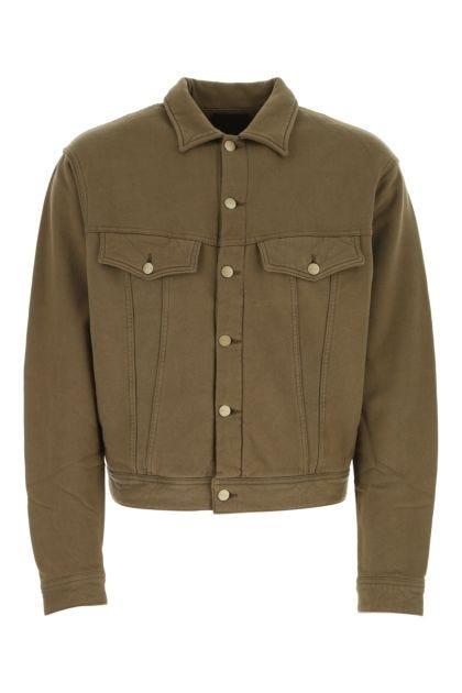 Khaki cotton jacket