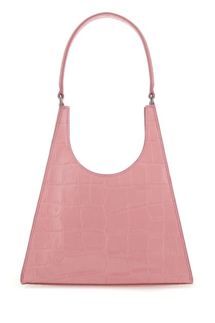 Pink leather Rey handbag