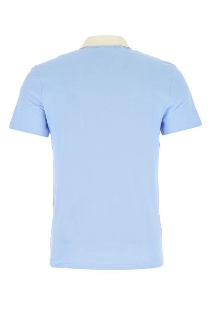 Multicolor piquet polo shirt