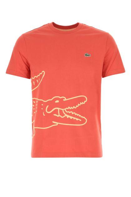 Light red cotton t-shirt